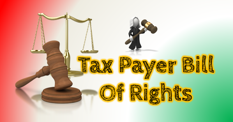 tax payer bill of rights